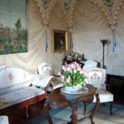 Il salotto blu del Castello