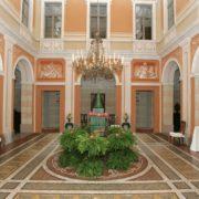 Il salone del Castello