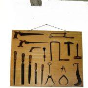 Officina riparazioni: plancia attrezzi
